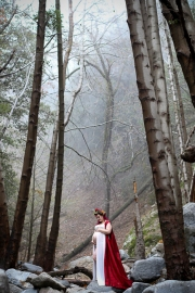 hiking trail-Switzer Falls-Pasadena-cosplay-maternity shoot-cosplay photoshoot-woodland fairy maternity photos-red-cape-weddings by bobbie-bobbie-pyle-photography-wedding-1
