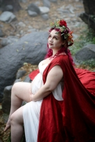 hiking trail-Switzer Falls-Pasadena-cosplay-maternity shoot-cosplay photoshoot-woodland fairy maternity photos-red-cape-weddings by bobbie-bobbie-pyle-photography-wedding-16