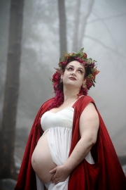 hiking trail-Switzer Falls-Pasadena-cosplay-maternity shoot-cosplay photoshoot-woodland fairy maternity photos-red-cape-weddings by bobbie-bobbie-pyle-photography-wedding-4