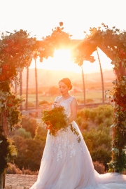Keys Creek Lavender Farm-Valley Center-snow white-theme wedding-lavender farm-apples-wedding cake-sunset-view-summer-bobbie-pyle-photography-wedding-35