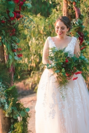 Keys Creek Lavender Farm-Valley Center-snow white-theme wedding-lavender farm-apples-wedding cake-sunset-view-summer-bobbie-pyle-photography-wedding-36
