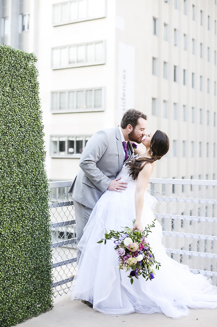 Wilshire Loft-Los Angeles California-city-city wedding-downtown wedding-skyscraper-skyline-view-purple-bouquet-the blushing details-wedding dress-destination wedding photographer-bobbie-pyle-photography-wedding-41