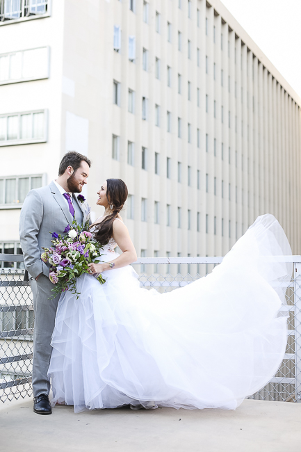 Wilshire Loft-Los Angeles California-city-city wedding-downtown wedding-skyscraper-skyline-view-purple-bouquet-the blushing details-wedding dress-destination wedding photographer-bobbie-pyle-photography-wedding-44