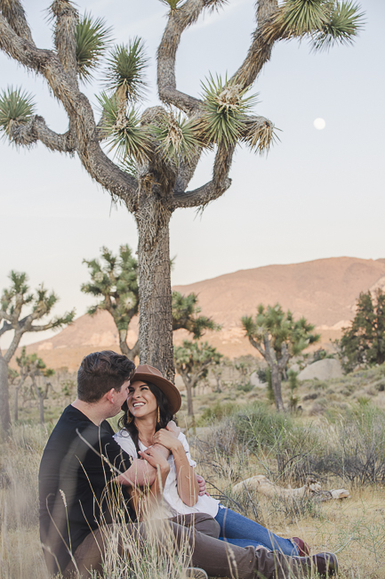 Joshua Tree-California-desert engagement-moon-sunset-wedding-elopement-bobbie-pyle-photography-wedding-los angeles wedding photographer-12