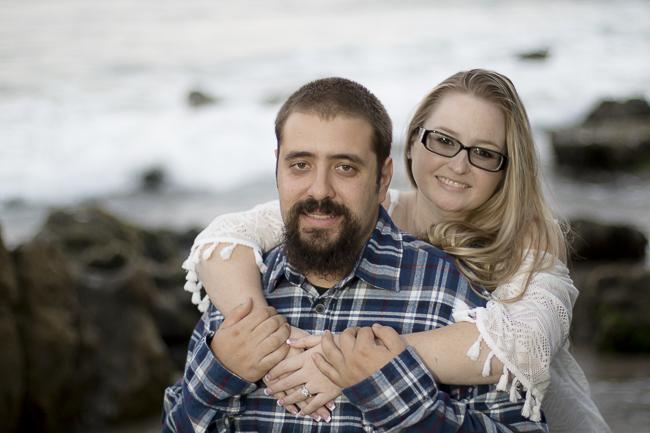 Leo Carillo State Beach-Malibu-California-Sunset Engagement Photos-beach wedding-bobbie-pyle-photography-wedding-10