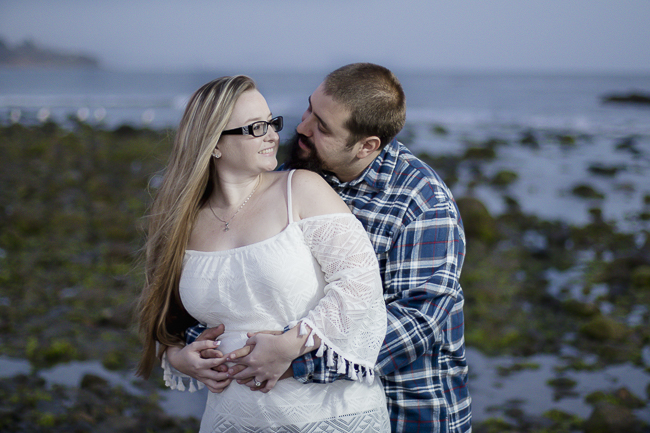 Leo Carillo State Beach-Malibu-California-Sunset Engagement Photos-beach wedding-bobbie-pyle-photography-wedding-11