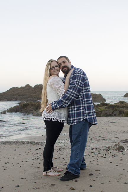 Leo Carillo State Beach-Malibu-California-Sunset Engagement Photos-beach wedding-bobbie-pyle-photography-wedding-8