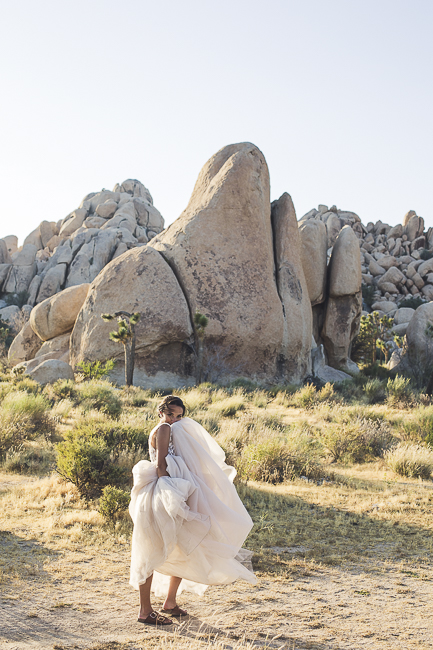renew vows-Joshua Tree-California-desert-cave-flowers-engagement-moon-sunset-wedding-elopement-bobbie-pyle-photography-wedding-los angeles wedding photographer-12
