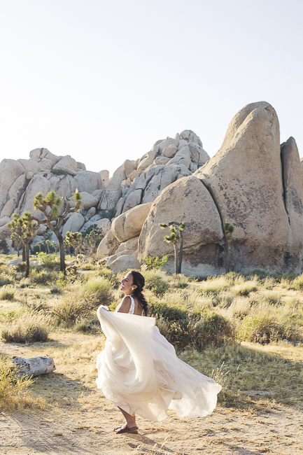 renew vows-Joshua Tree-California-desert-cave-flowers-engagement-moon-sunset-wedding-elopement-bobbie-pyle-photography-wedding-los angeles wedding photographer-14