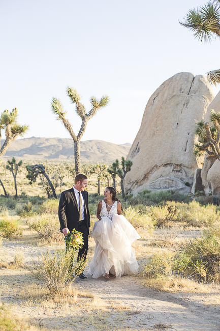 renew vows-Joshua Tree-California-desert-cave-flowers-engagement-moon-sunset-wedding-elopement-bobbie-pyle-photography-wedding-los angeles wedding photographer-21