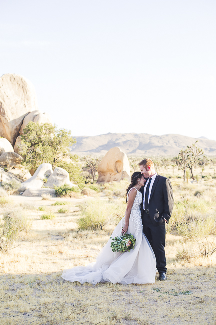 renew vows-Joshua Tree-California-desert-cave-flowers-engagement-moon-sunset-wedding-elopement-bobbie-pyle-photography-wedding-los angeles wedding photographer-5