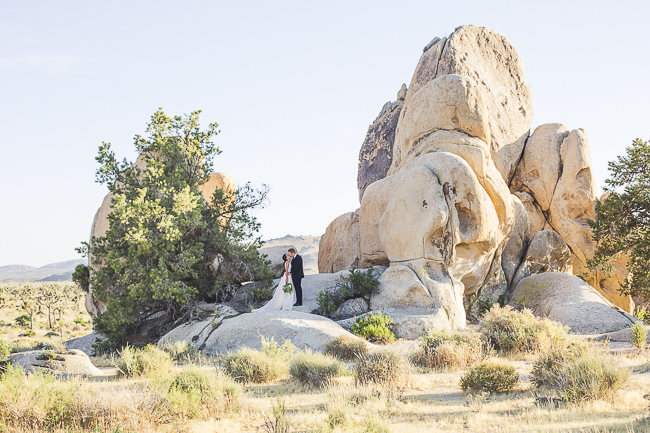 renew vows-Joshua Tree-California-desert-cave-flowers-engagement-moon-sunset-wedding-elopement-bobbie-pyle-photography-wedding-los angeles wedding photographer-7