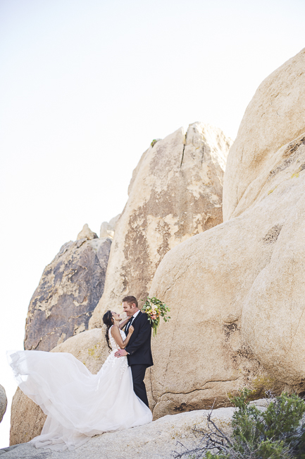 renew vows-Joshua Tree-California-desert-cave-flowers-engagement-moon-sunset-wedding-elopement-bobbie-pyle-photography-wedding-los angeles wedding photographer-8